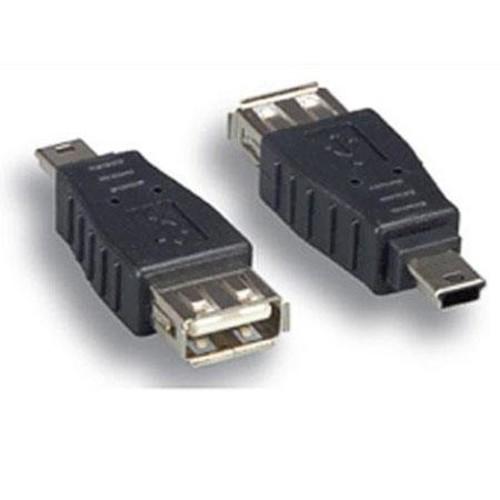 Comprehensive USB A Female to Mini B 4Male Adapter USBAF-MB4M