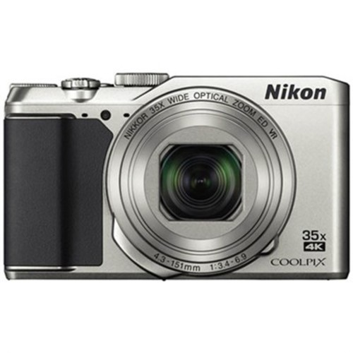 Nikon Refurbished COOLPIX A900 20MP 4K WiFi Digital Camera w/ 35x Optical Zoom -Silver