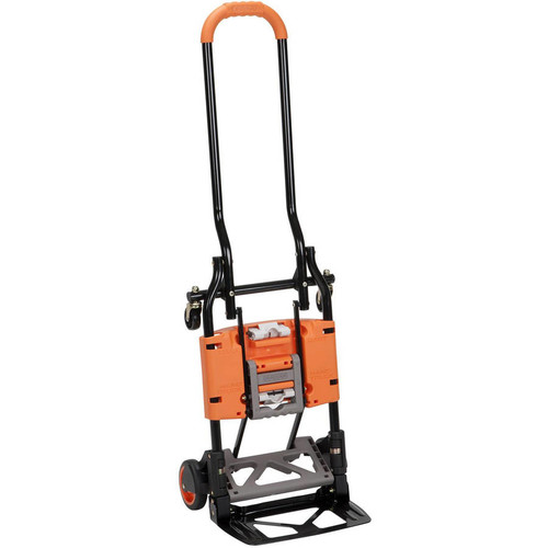 Cosco Shifter 300 lb. 2-in-1 Convertible Hand Truck and Cart in Orange