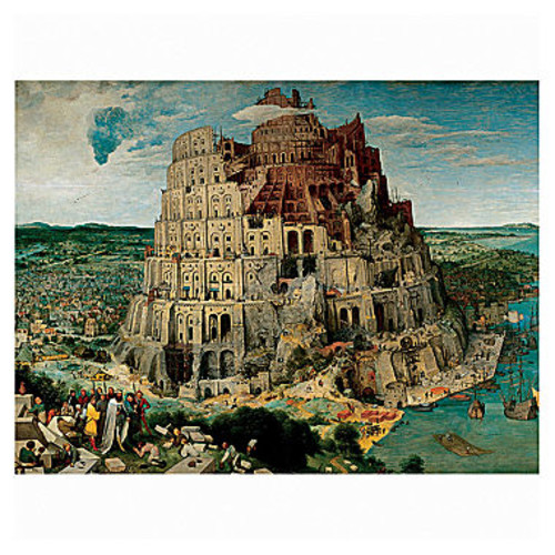 Ravensburger The Tower of Babel Jigsaw Puzzle: 5000 Pcs
