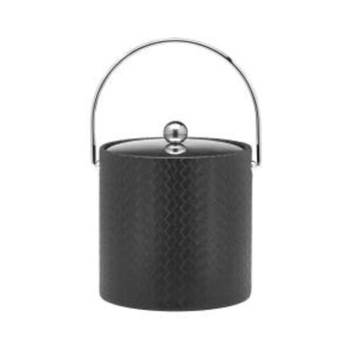 Kraftware San Remo Eclipse 3 Qt. Ice Bucket with Bale Handle, Metal Lid