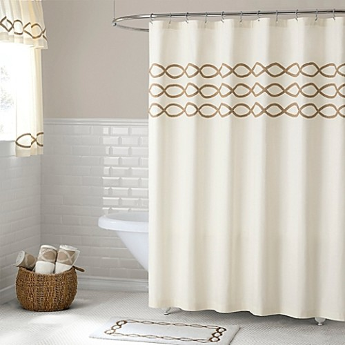 Linden 84-Inch Shower Curtain