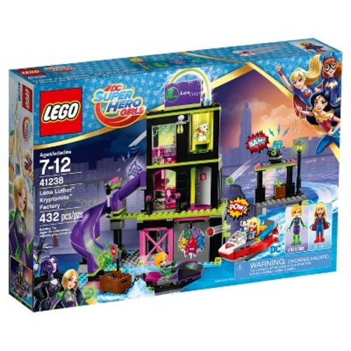 LEGO DC Super Hero Girls Lena Luthor Kryptomite Factory 41238
