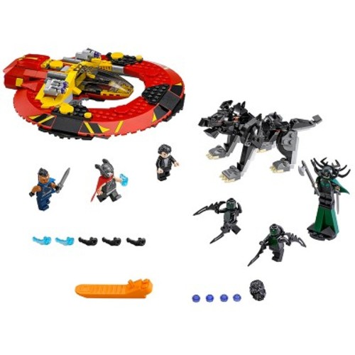 LEGO Marvel Super Heroes The Ultimate Battle for Asgard 76084
