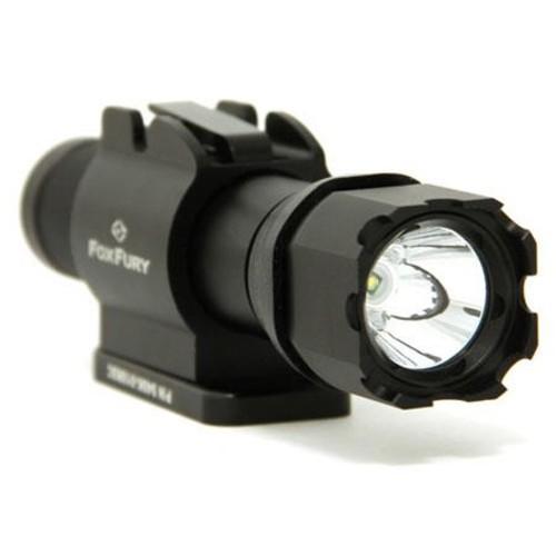 Foxfury Sideslide Bolt Side Mounted Helmet Flashlight, 140 Lumens 940K-010RSC