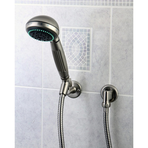 Satin Nickel Finish Massage Hand Shower Combo