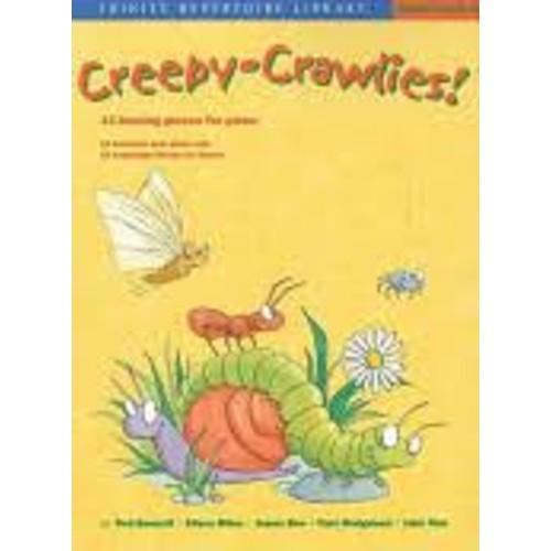 Creepy-crawlies!: 13 Buzzing Pieces for Piano [Book]