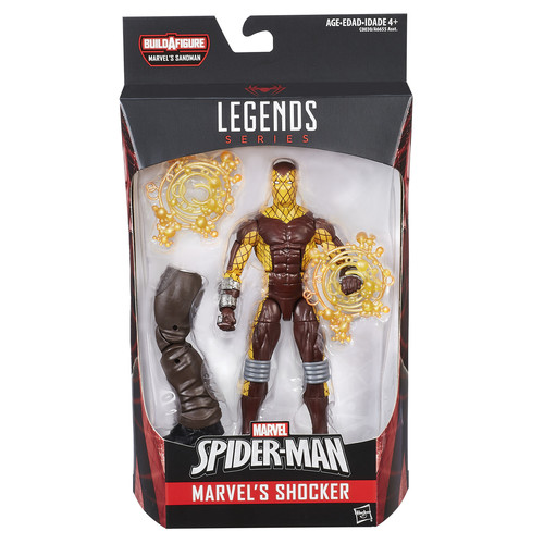 Marvel,Disney,Hasbro Marvel Spider-Man Legends Series 6 inch Action Figure - Marvel's Shocker