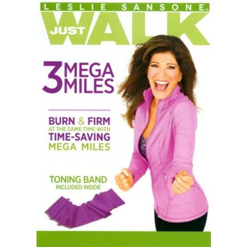 Leslie Sansone: Just Walk - 3 Mega Miles [With Band]