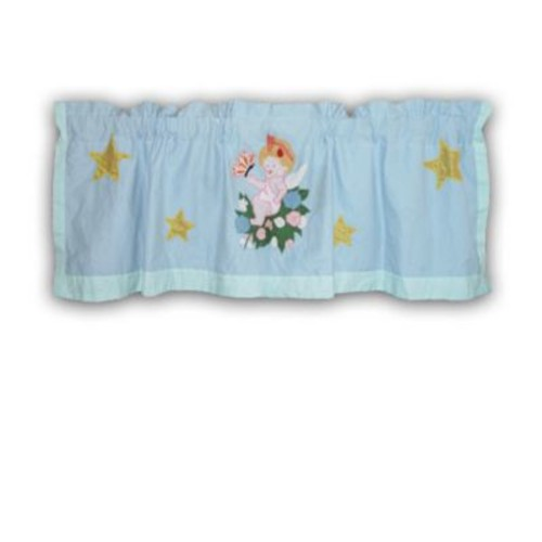 Patch Magic Baby Angels 54'' Curtain Valance
