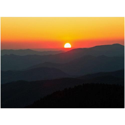 Trademark Fine Art 'Great Smoky Mountains Sunset' 22