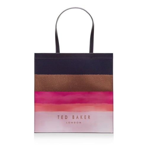 TED BAKER Delcon Mosaic Icon Large Tote