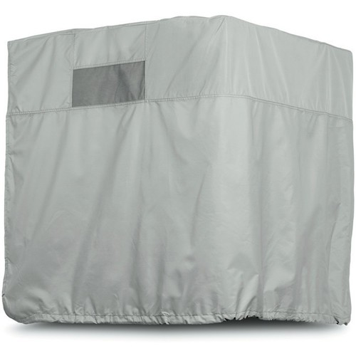Classic Accessories Side Draft Evaporative Cooler Cover  Gray, Fits 40in.W x 40in.D x 46in.H Coolers,