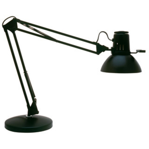 Lite Source Karolina Desk Lamp, Black