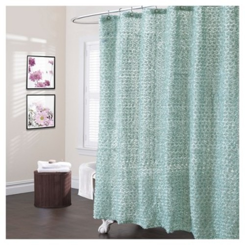 Rosely Shower Curtain - Lush Decors