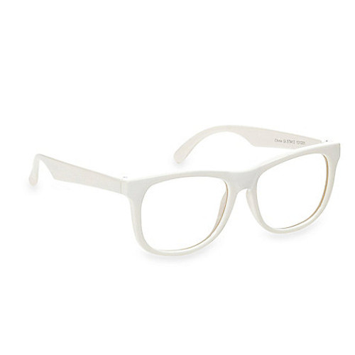 Baby Opticals by Hipsterkid Clear Lens Sunglasses in White