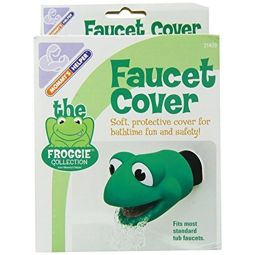 Mommy's Helper Faucet Cover Froggie Collection, Green, 6-48 Months [1]