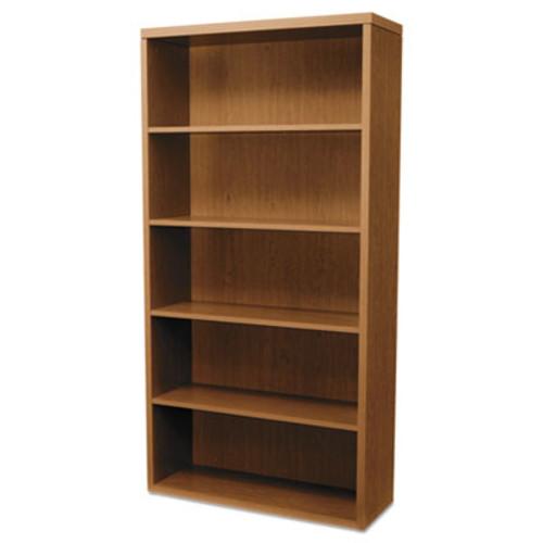 HONCOMPANY Valido 11500 Series Bookcase, Five-Shelf, 36w X 13-1/8d X 71h, Bourbon Cherry BOOKCASES,WOOD VENEER