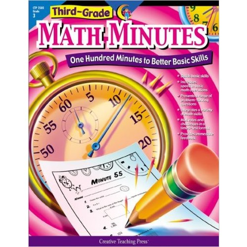 Math Minutes, 3rd Grade (CTP 2585) (One Hundred Minutes to Better Basic Skills)