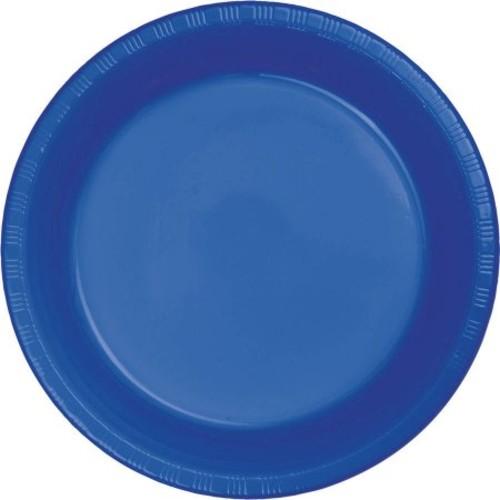Cobalt Banquet Table Roll
