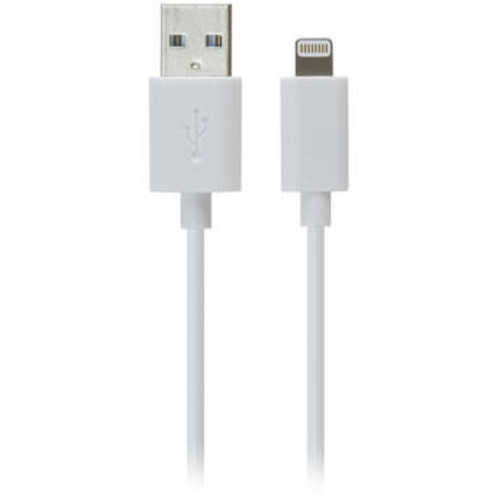 iLuv 3ft. High Quality Lightning Cable - White