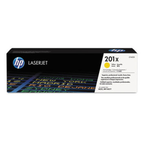 HP 201X High-Yield Toner Cartridge Yellow