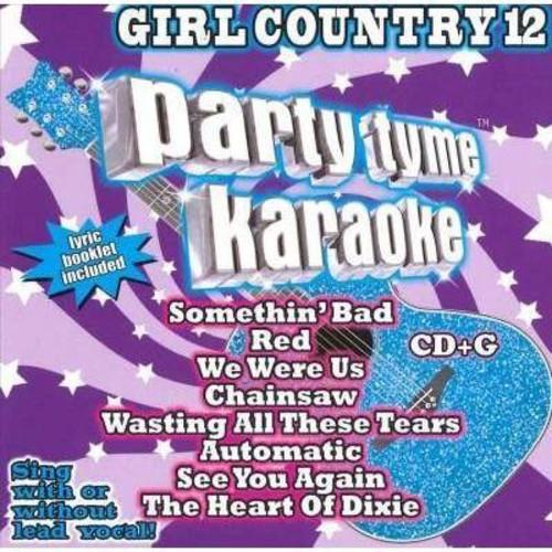 Party Tyme Karaoke: Girl Country 12 / Various