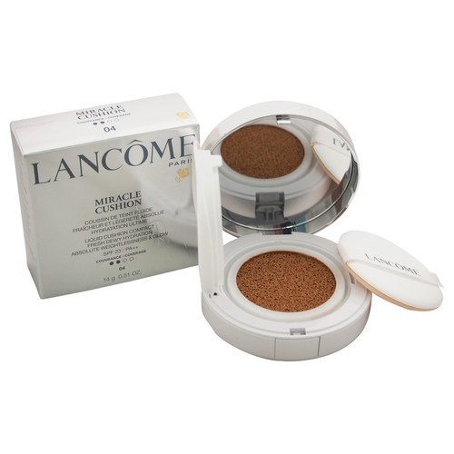 Lancome Miracle Cushion Liquid Cushion Compact SPF 23 - # 04 Beige Miel by for Women - 0.51 oz Foundation