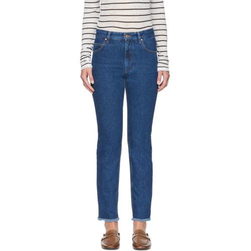 ISABEL MARANT ETOILE Blue Slim Jeans
