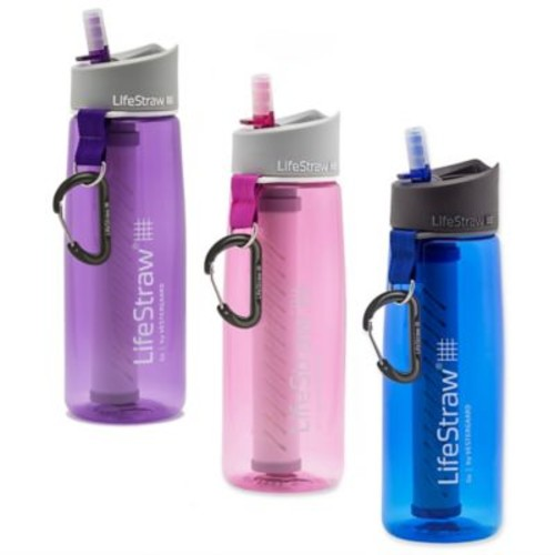LifeStraw Go Filter Bottle with 2-Stage Filtration