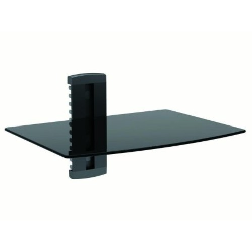 Single Shelf Wall Mount for TV Components, UL Certified