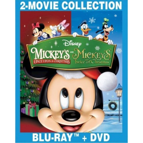 Mickey's Once Upon a Christmas / Mickey's Twice (Blu-ray + DVD)