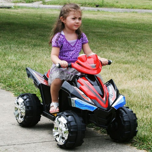 Lil Rider 80-CH917 Lil Rider Pro Circuit Hero 4 Wheeler - Sound Effects