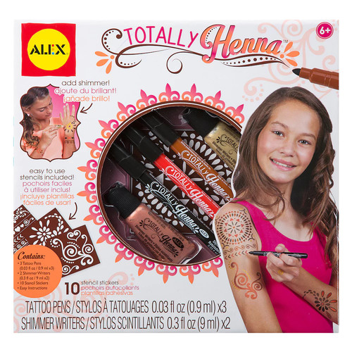 Totally Henna Kit - Ages 6+