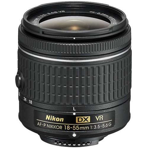 Nikon AF-P DX Nikkor 18-55mm f/3.5-5.6G VR Standard zoom lens for DX format Nikon DSLR cameras
