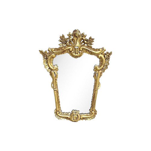 Italian Gilt Acanthus Leaf Mirror