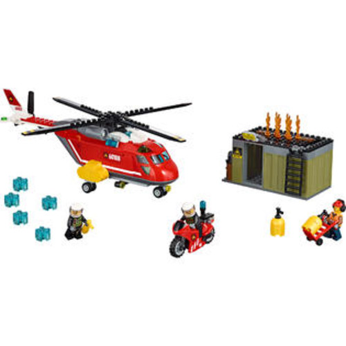 LEGO City Fire Response Unit (60108)