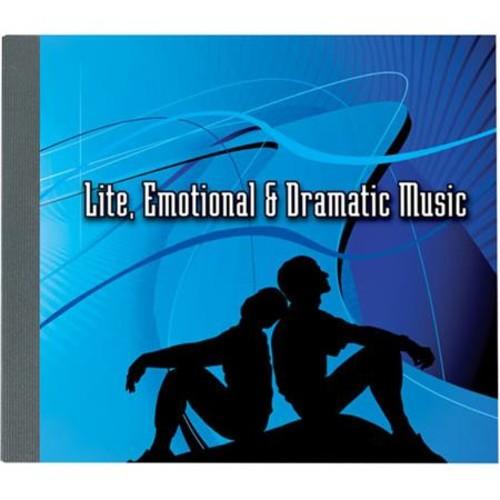 Sound Ideas Lite, Emotional & Dramatic Music Royalty-Free Audio CD M-SI-LITE-ROMN