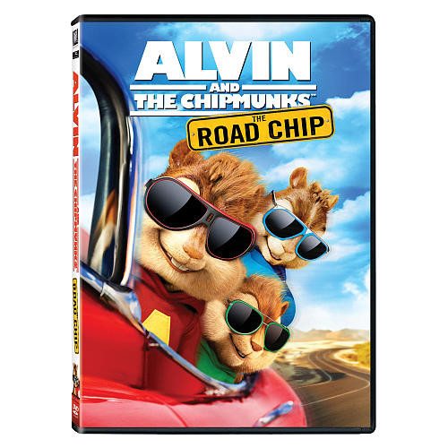 Alvin and the Chipmunks: The Road Chip DVD