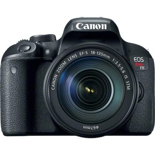 Canon EOS Rebel T7i DSLR Camera with 18-135mm STM Lens Kit