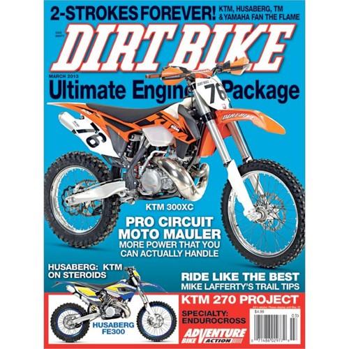 Dirt Bike 1 Year Magazine Subscription