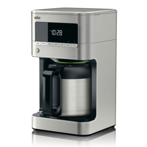 Braun BrewSense Drip Coffee Maker in Stainless Steel