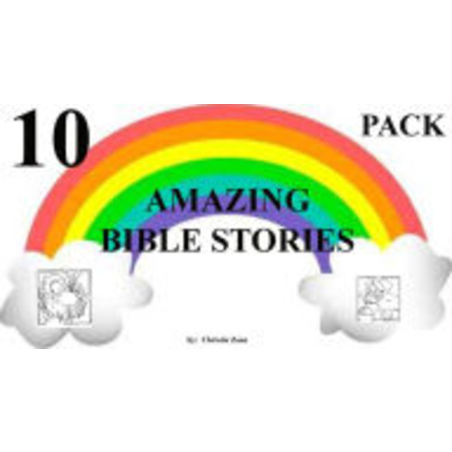 9 FREE AMAZING BIBLE STORIES INCLUDED + Noah and the Ark (Children's Picture Books) Jonah, Daniel, David and Goliath, and More