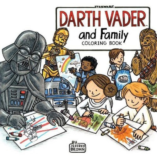 Darth Vader and Family Coloring Book (Paperback) (Jeffrey Brown)