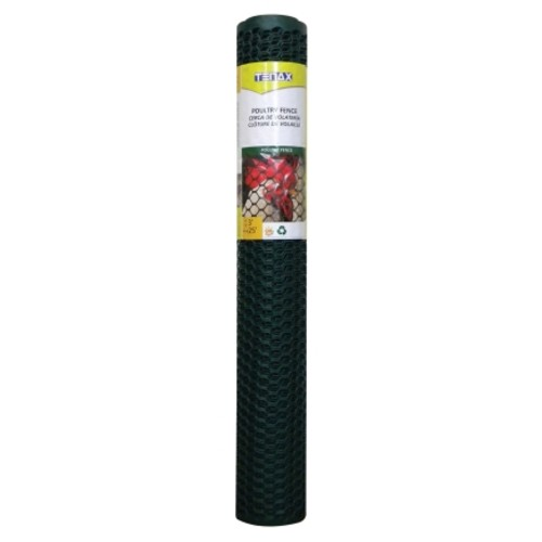Tenax Poultry Fence 3 ft. H x 25 ft. L Green(72121128)