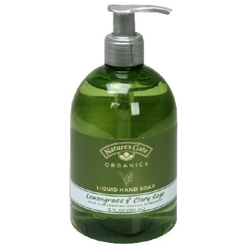 Lemongrass and Clary Sage Liquid Soap Nature's Gate 12 oz Liquid [Lemongrass and Sage]