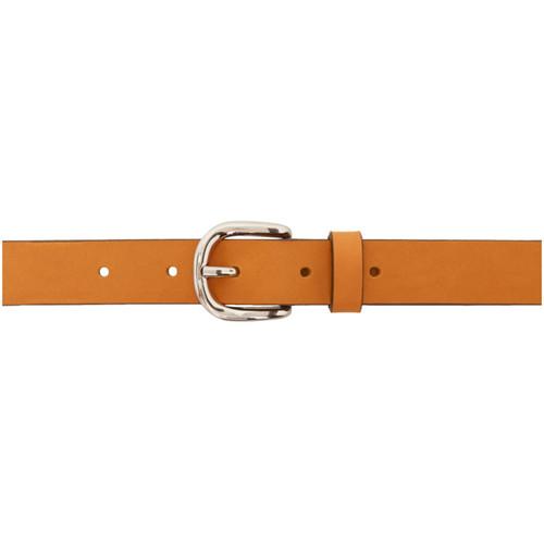 ISABEL MARANT Tan Zap Classic Belt