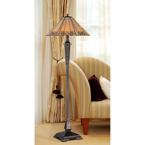 Kenroy Home Willow 59 in. Bronze Floor Lamp