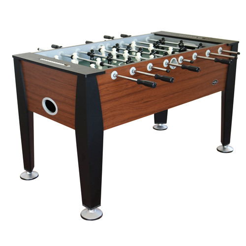 Sport Squad 57u0026#8217; Langley Foosball Table with Table Tennis Top