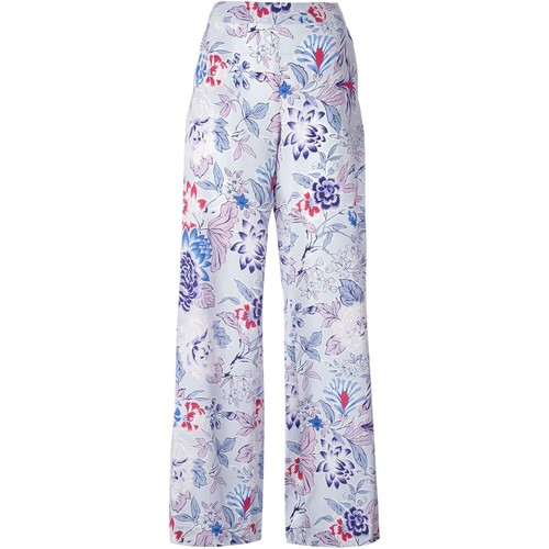 ETRO Floral Wide Leg Trousers